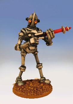 Retro Raygun: (Robot Legion) Legionnaire, advancing