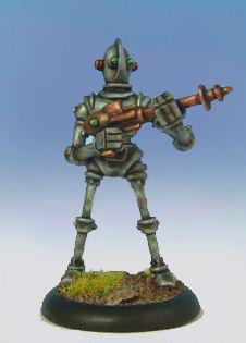 Retro Raygun: (Robot Legion) Legionnaire, standing