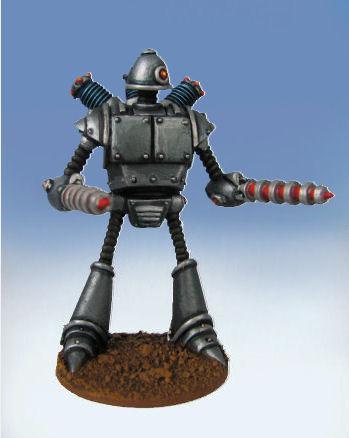 Retro Raygun: (Robot Legion) Warbot Destroyer