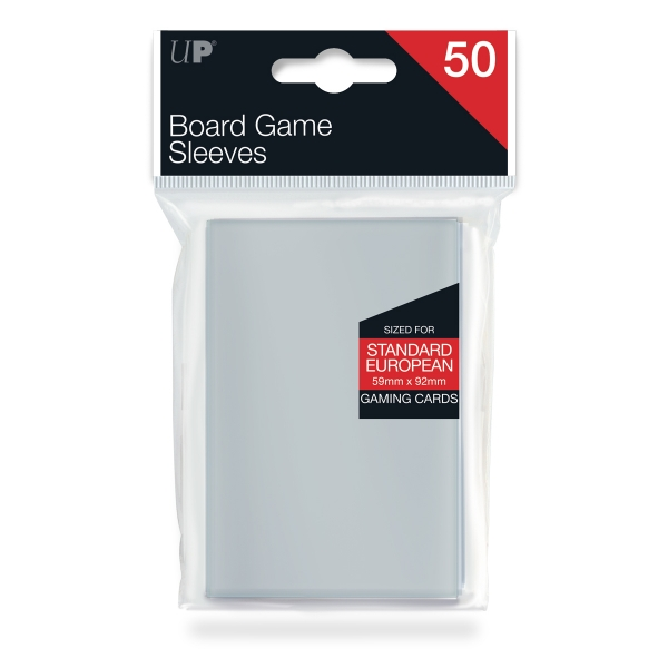 Ultra-Pro: 59mm X 92mm Standard European Board Game Sleeves 50ct