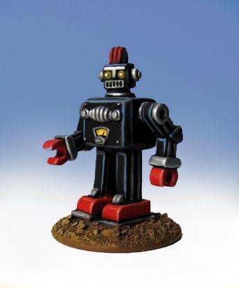 Retro Raygun: (Space Aliens) Blocko the Squarebot