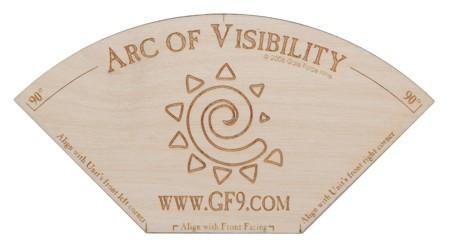 Gale Force Nine: Arc of Visibility - Old World Wood