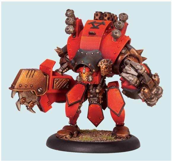 Warmachine: (Khador) Torch (Upgrade Kit)