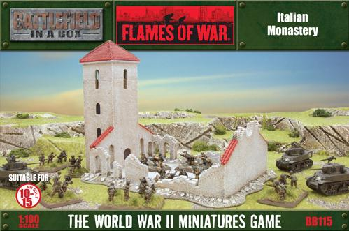 Battlefield in a Box - Scenery: Ruined Monastary