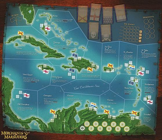 Merchants and Marauders: Core Game