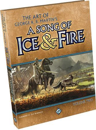 Art Books: The Art of George R.R. Martin�s A Song of Ice and Fire Vol. 2