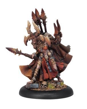 Warmachine (Circle Orboros) Nuala The Huntress