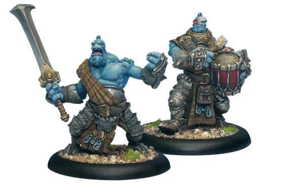 Hordes: (Trollbloods) Fennblade Officer & Drummer
