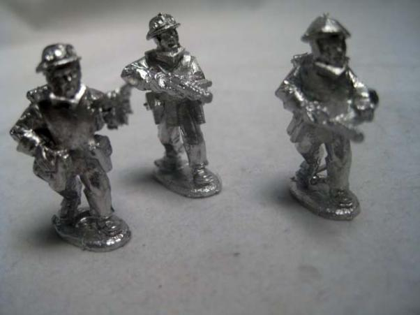 28mm Thrilling Tales (Pulp): Very Private Army Assault Section (3)