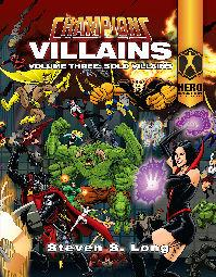 HERO System 6th Edition - Champions Villains (Volume Three: Solo Villains)