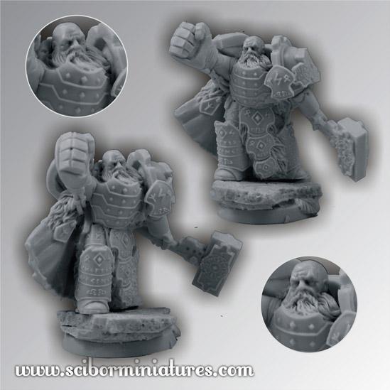 28mm Fantasy Miniatures: 28mm Celtic Warrior #3