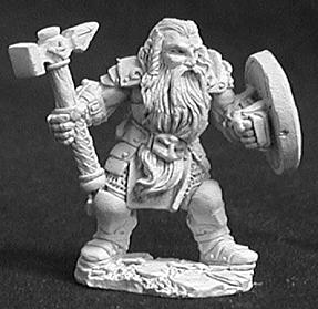 Dark Heaven Legends: Bjorn Dwarven Warrior