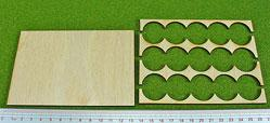 Hordes Tray Set: Rank Tray, 5x3, 25mm circle bases