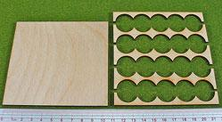 Hordes Tray Set: Rank Tray, 5x4, 20mm Circle Bases