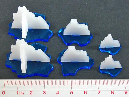 Game Tokens: Iceberg Marker Set (6)