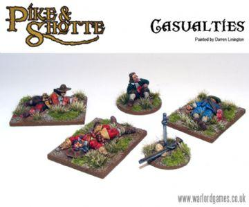 28mm Pike & Shotte: Shotte Down In Flames