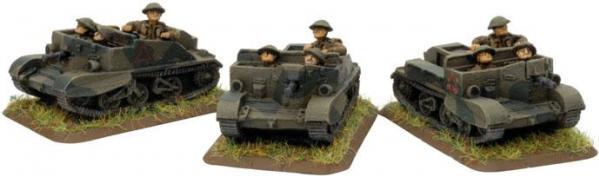 Flames of War - British: Bren Carrier Platoon (Early)