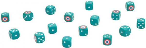Flames of War: French Dice