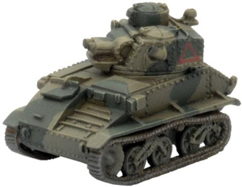 Flames of War - British: Light MkVIB (C gun included) x3