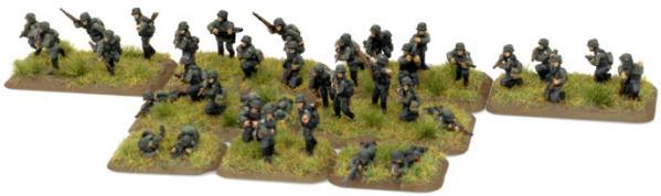 Flames of War: (German) Schutzen Infantry Platoon