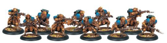 (Cygnar) Trencher Infantry Unit Box Set (10)