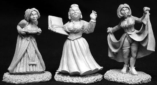 Dark Heaven Legends: Townsfolk III (Madam & Strumpets)