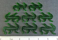 Arkham Horror: Cthulhu Monster Bases (Transparent Green) (8)