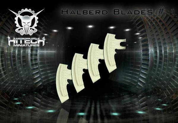 Halberd Blades, Small (4)