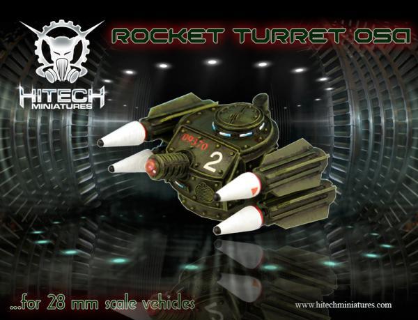 OSA 4 Rockets Turret