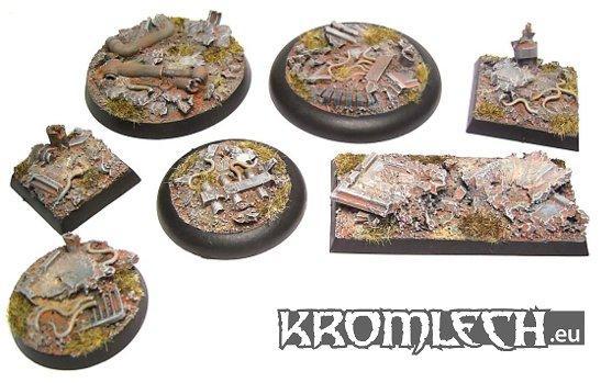 Kromlech Conversion Bitz: Urban Rubble Basing Kit