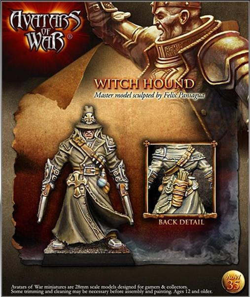 Avatars of War: Inquisitor with Pistols