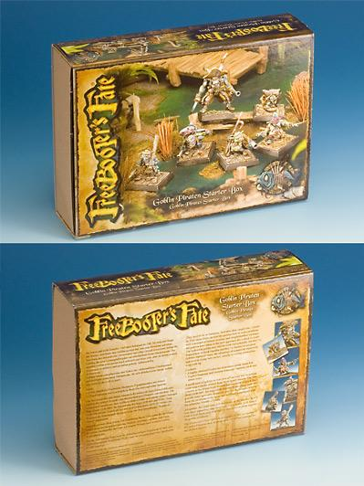 Freebooter's Fate: Goblin Pirates Starter Box