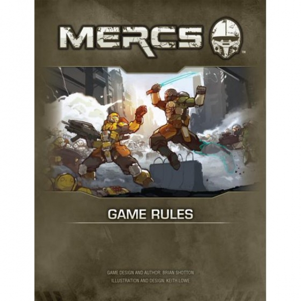 MERCS: Game Rules Book (1st Edition) (HC)