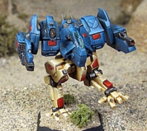 BattleTech Miniatures: Night Wolf Mech (TRO 3085)