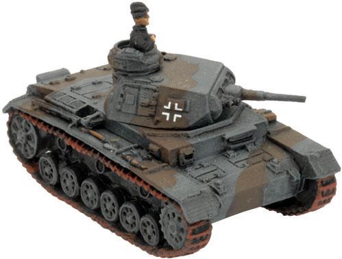 Flames of War - German: Panzer III E