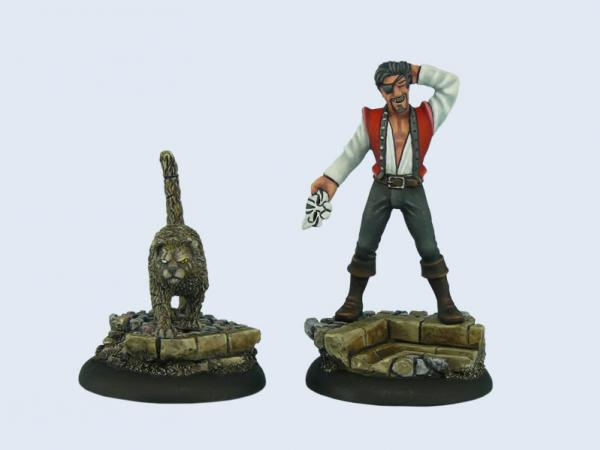 28mm Discworld Miniatures: Discworld Greebo (2)