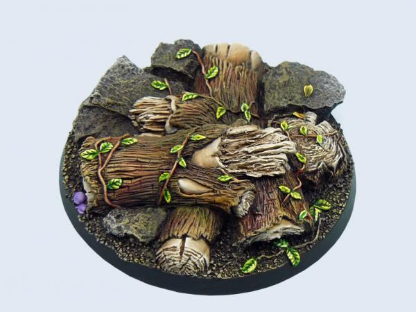 Battle Bases: Forest Bases, Round 60mm #1 (1)