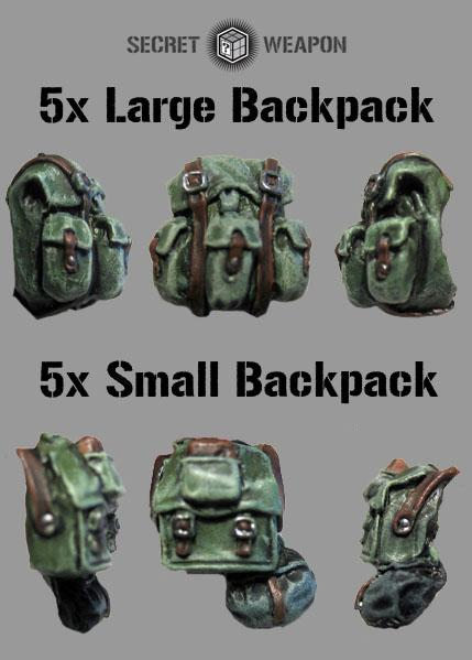 Mixed Backpack Set (5x Large/5x Small)