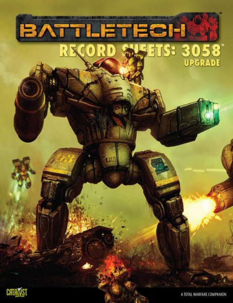 Classic BattleTech: Record Sheets - 3058 Upgrade