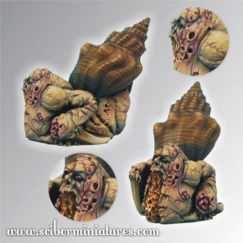 28mm/30mm Moscals Army: Mutant Snail #4