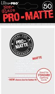 Ultra-Pro: Pro-Matte White Deck Protector (50ct)