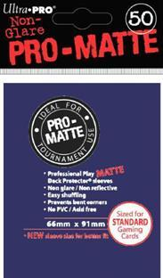 Ultra-Pro: Pro-Matte Blue Deck Protector (50ct)