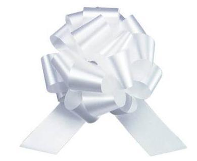Christmas Gift Wrap: Pull Bows (Blue or White)