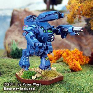 BattleTech Miniatures: Eisenfaust EFT-7X Mech (TRO 3085)