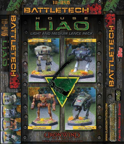 BattleTech Miniatures: House Liao Light-Medium Lance Set