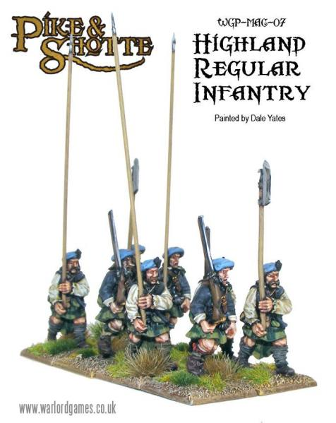 28mm Pike & Shotte: Regular Highlanders (8)