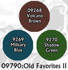 Master Series Paints: Old Favorites II Triad