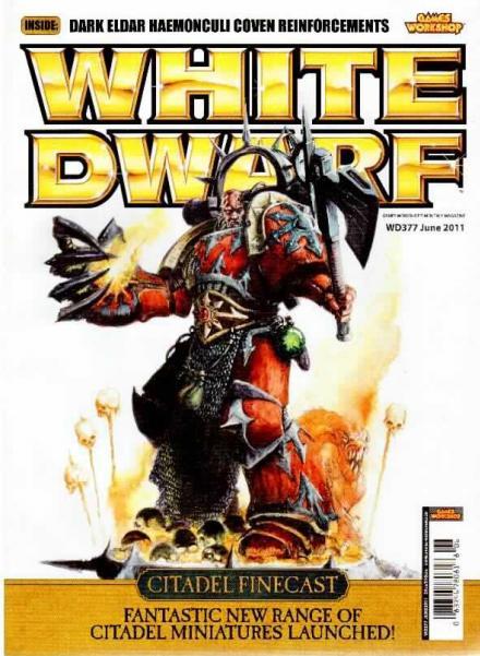 White Dwarf #377 [JUN 2011] - Game Kastle Online