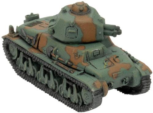 Flames of War - French: Hotchkiss H-35 or H-39 (3)