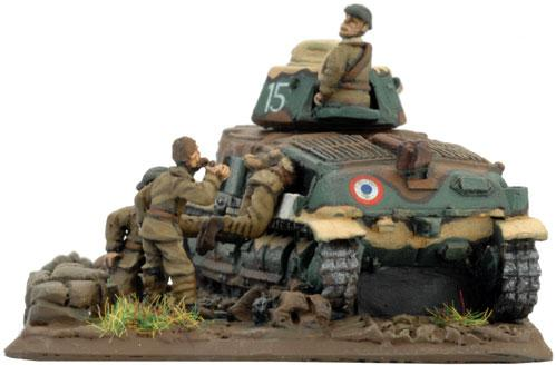 Flames of War - French: General de Gaulle